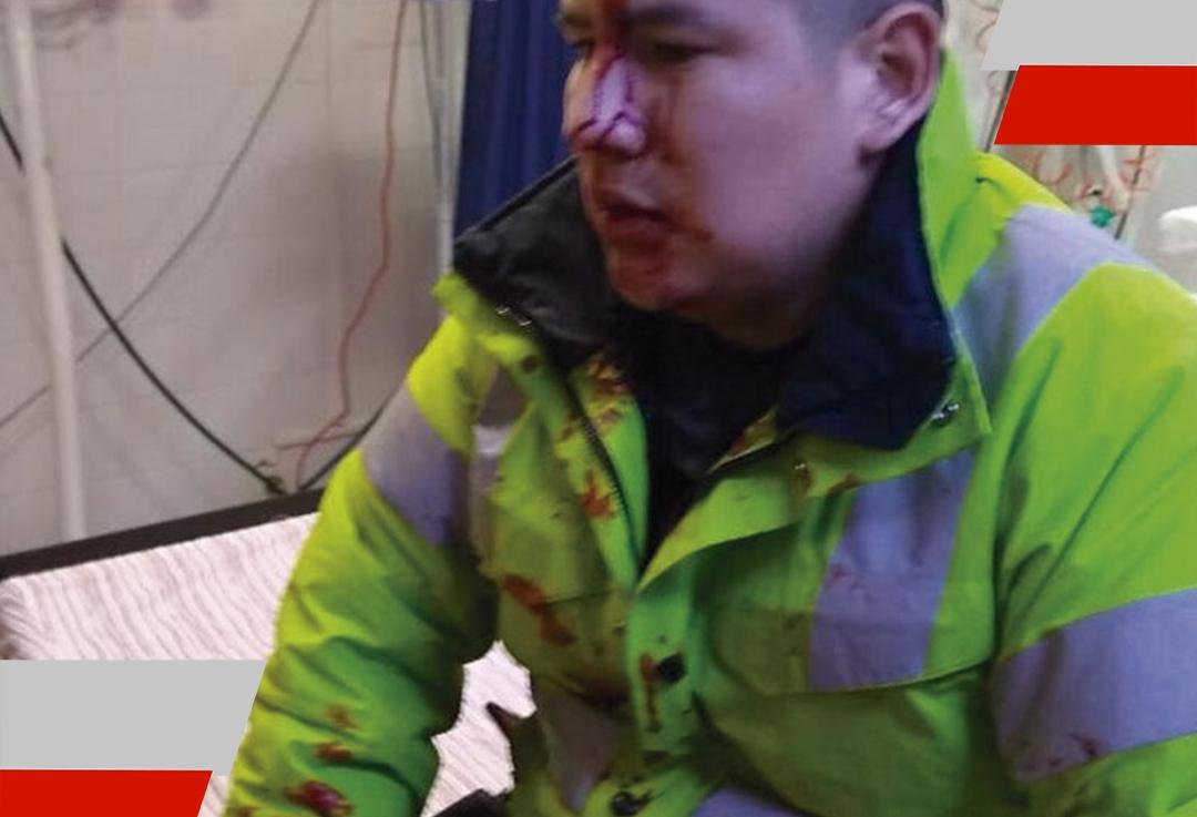 Violento enfrentamiento con la policía en RíoGrande