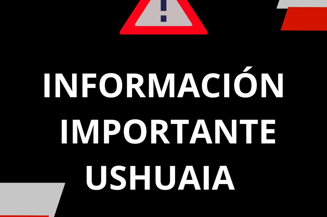 Gobierno dispuso el aislamiento social preventivo y obligatorio en la ciudad deUshuaia