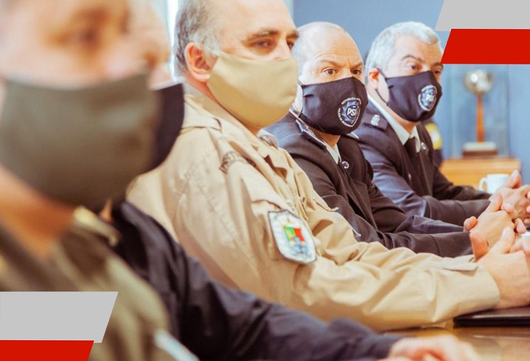 Se reunió el Concejo de Seguridad para dialogar sobre las nuevas flexibilizaciones que rigen en laProvincia