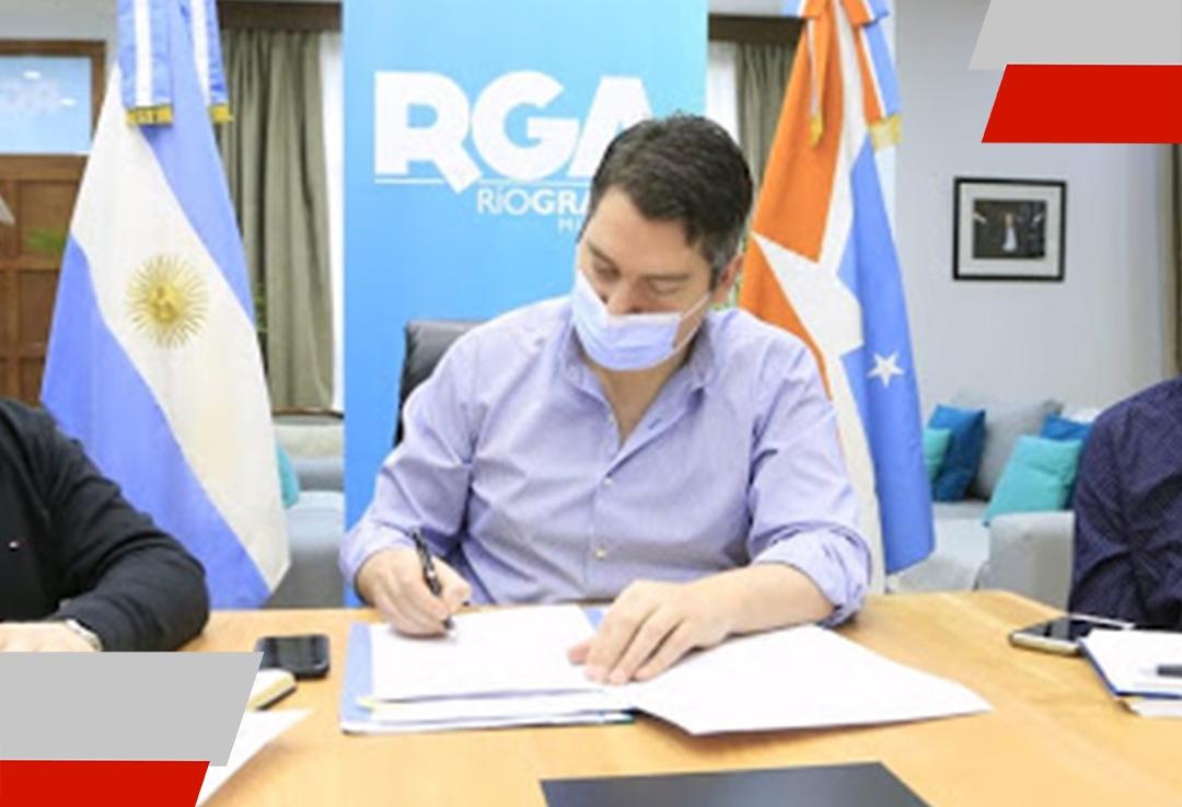 Río Grande firmó un convenio muy importante con la cámara de industria y comercio AHK argentino-alemana