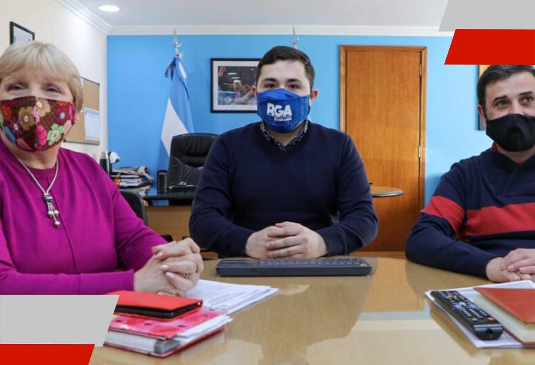 Trabajo en conjunto para potenciar las cooperativas en RíoGrande