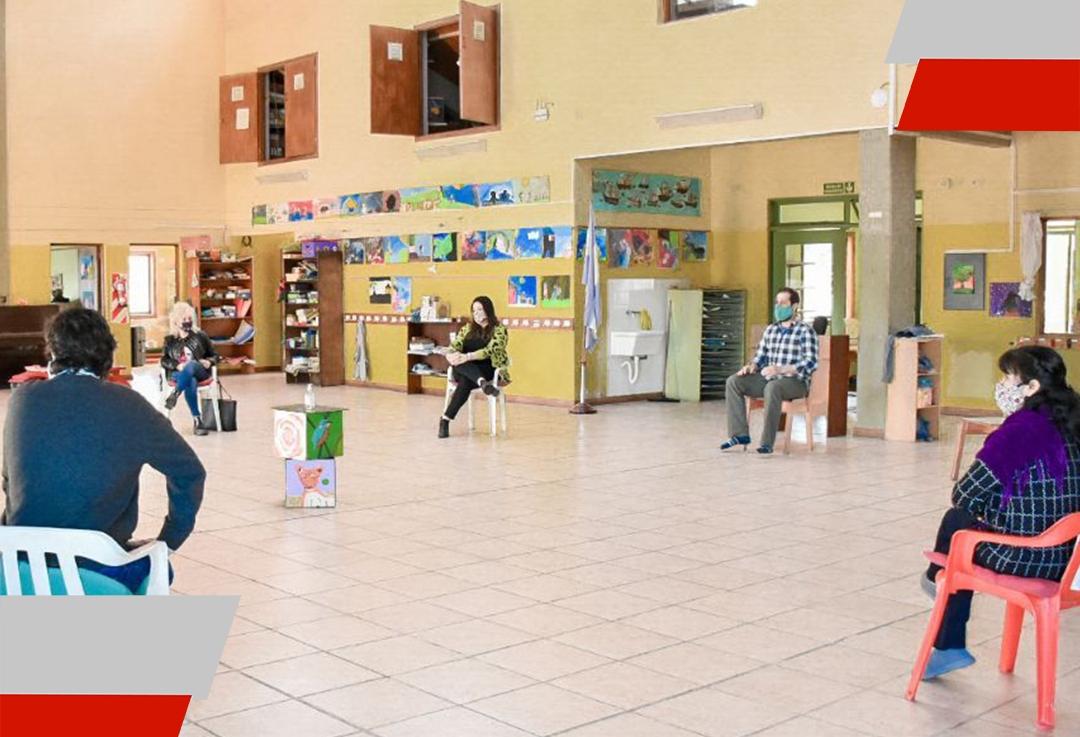 La Municipalidad de Ushuaia se acercó a los directivos de las escuelas experimentales de laciudad