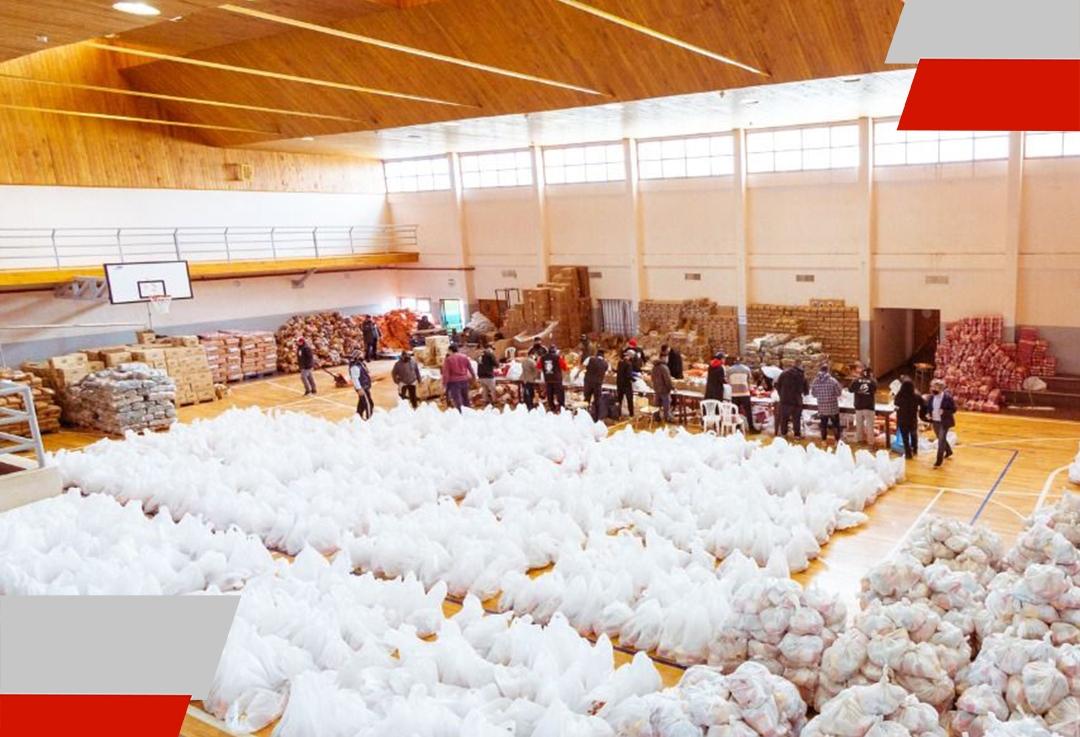 Se entregaron 306 módulos alimentarios desde Gobierno para asistir a familias enpandemia