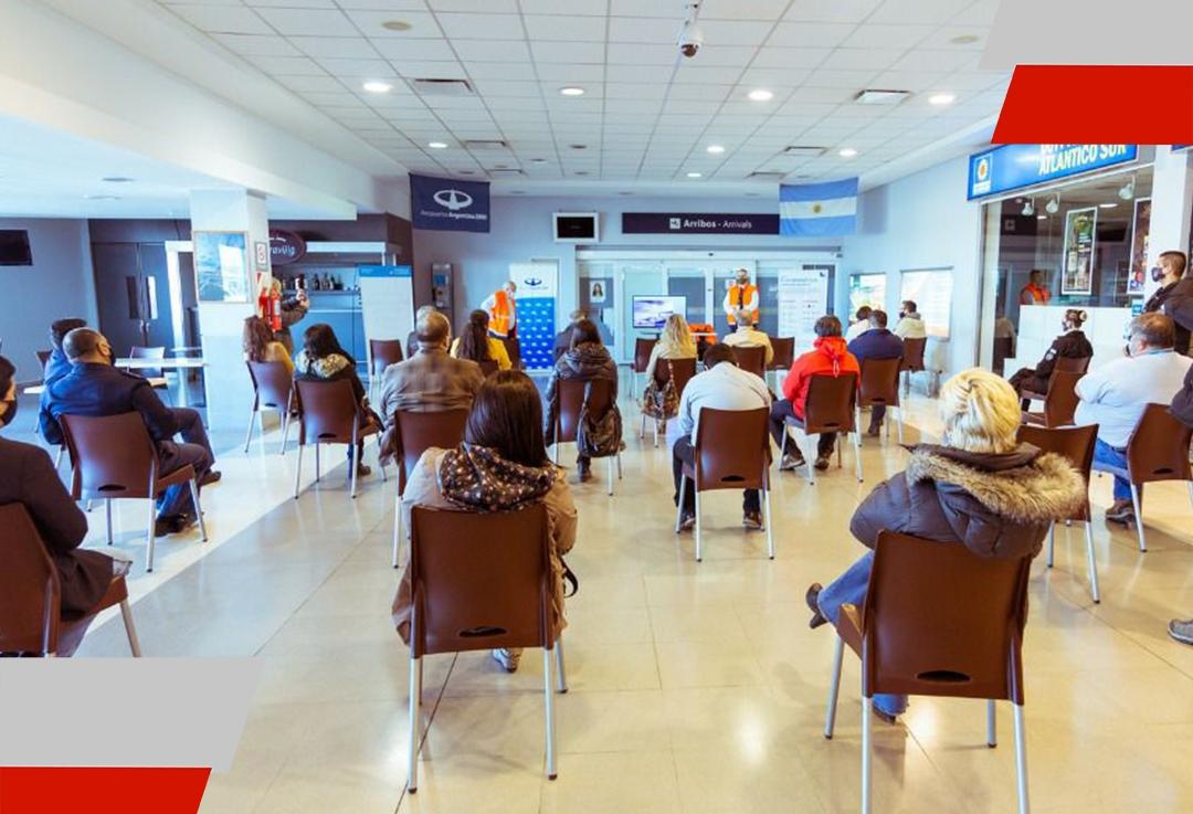 Se presentaron los protocolos del Aeropuerto de RíoGrande