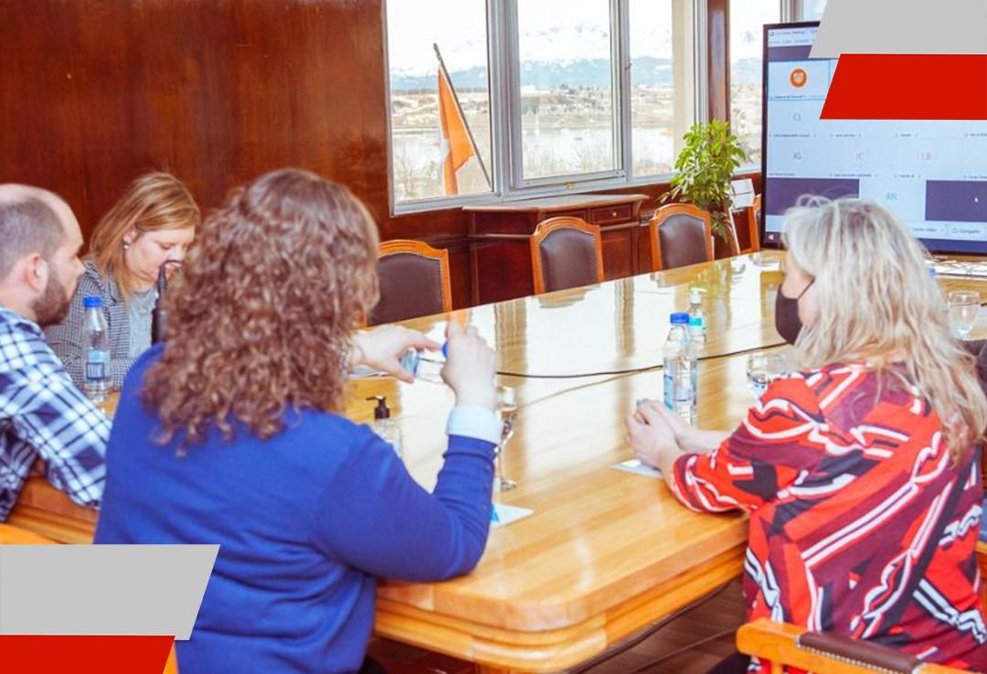 El Gobierno evaluó la situación epidemiológica de Ushuaia con representantes del sectorprivado