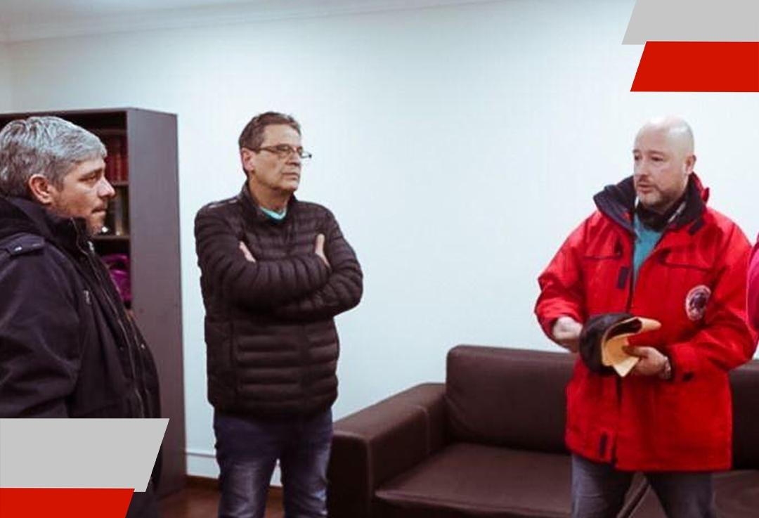 El Gobierno pagó la primera cuota de anticipo económico acordado con la asociación de Bomberos Voluntarios Ushuaia