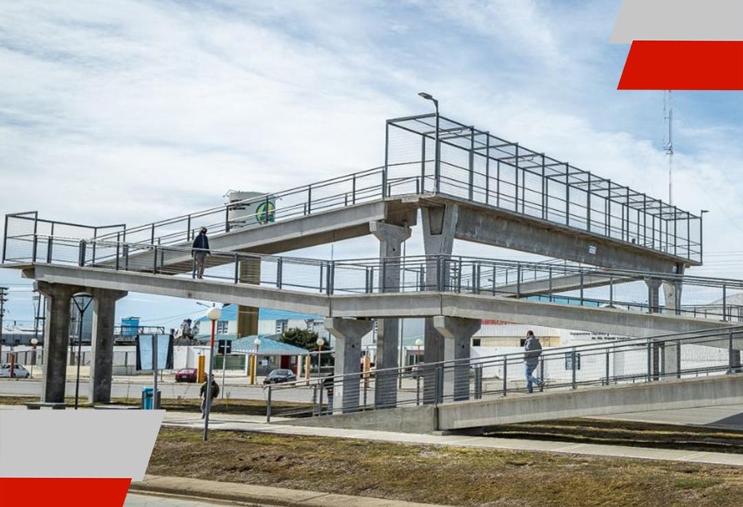 """Se puso en funcionamiento el puente peatonal """"Catalina AdrianaColom"""""""