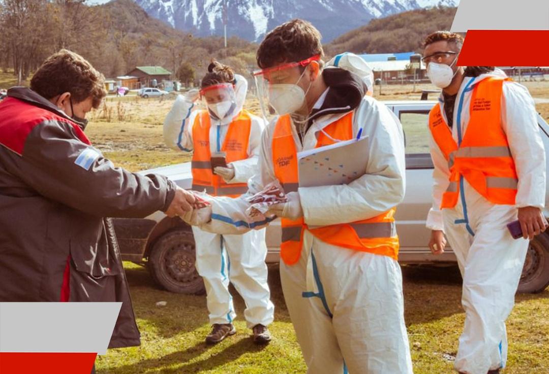 Se realizó un operativo de concientización en espacios públicos de Ushuaia por parte de CuidarnosTDF