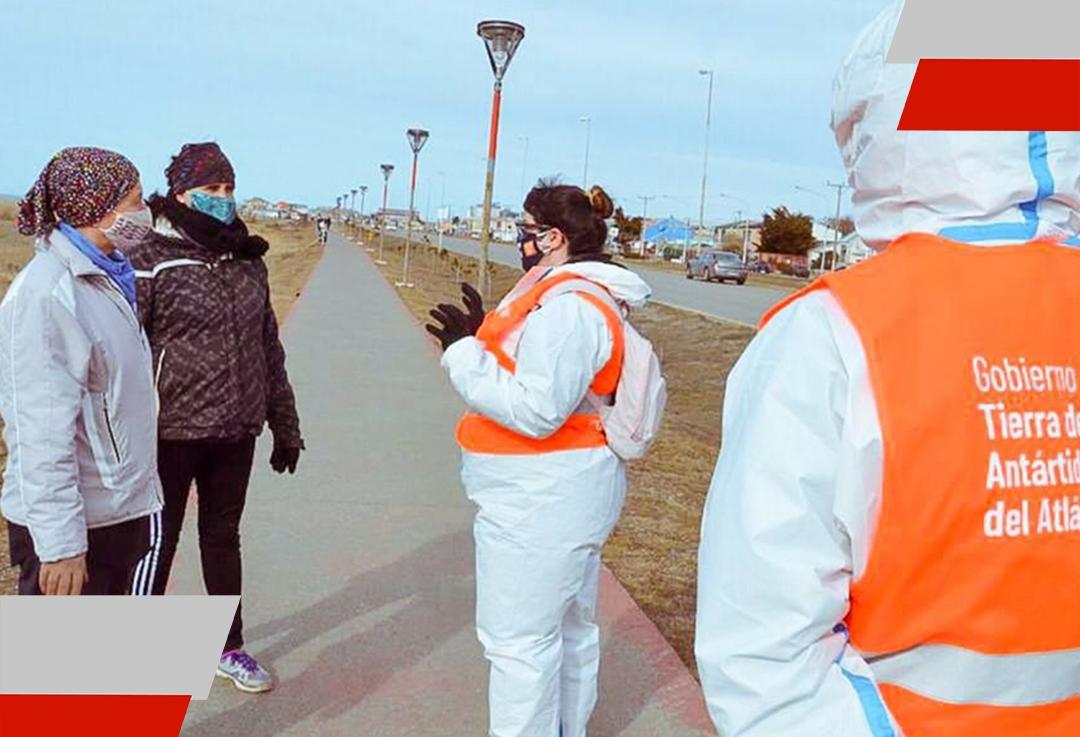 El Programa Cuidarnos TDF se puso en marcha en Tolhuin y ya recorre todas las calles de laprovincia