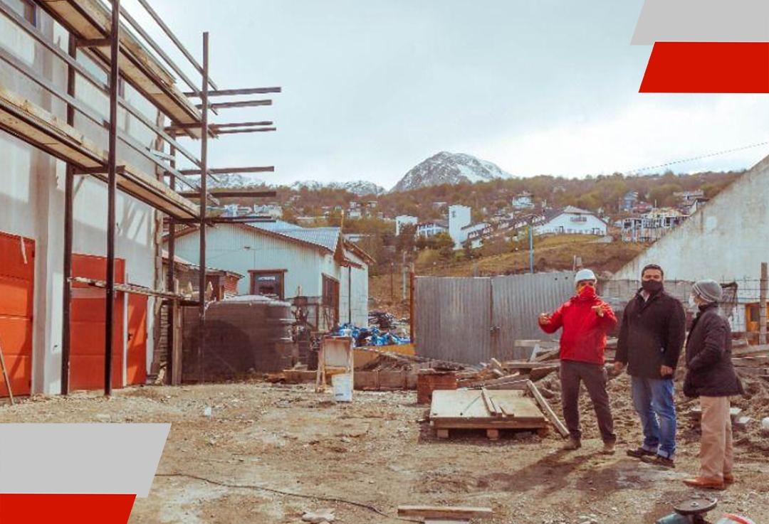 Se encuentra en etapa final el nuevo edificio para el personal de redes de laDPOSS