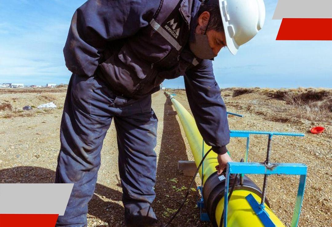 El gobierno avanza con la etapa final de ampliación de red de gas natural urbanización San MartinNorte