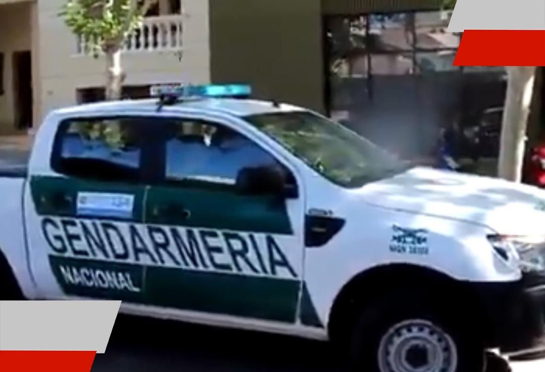 Gendarmería comenzó a hacer concientización en lascalles