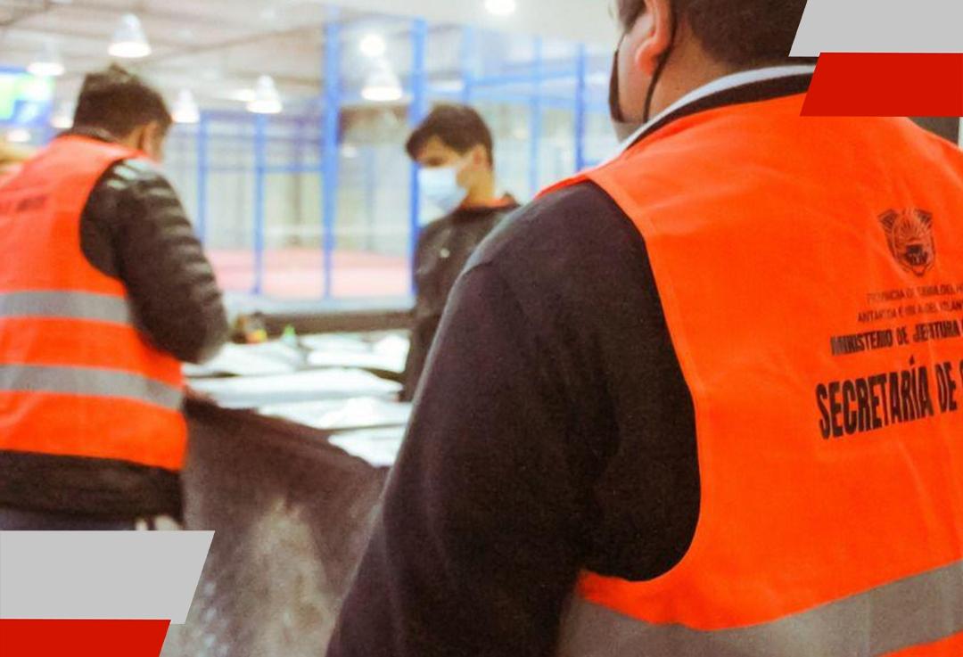 La Secretaría de Comercio realizó inspecciones en conjunto con la subsecretaría dedeportes