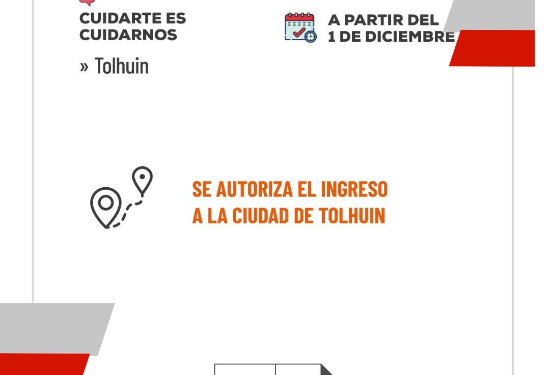 Gobierno autoriza el ingreso a Tolhuin a partir del 1 dediciembre
