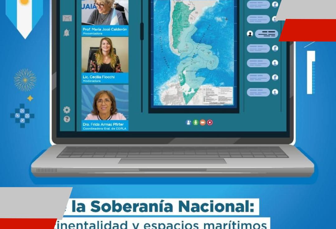 """Se realizará una charla online sobre """"Biocontinentalidad y espacios marítimos"""""""