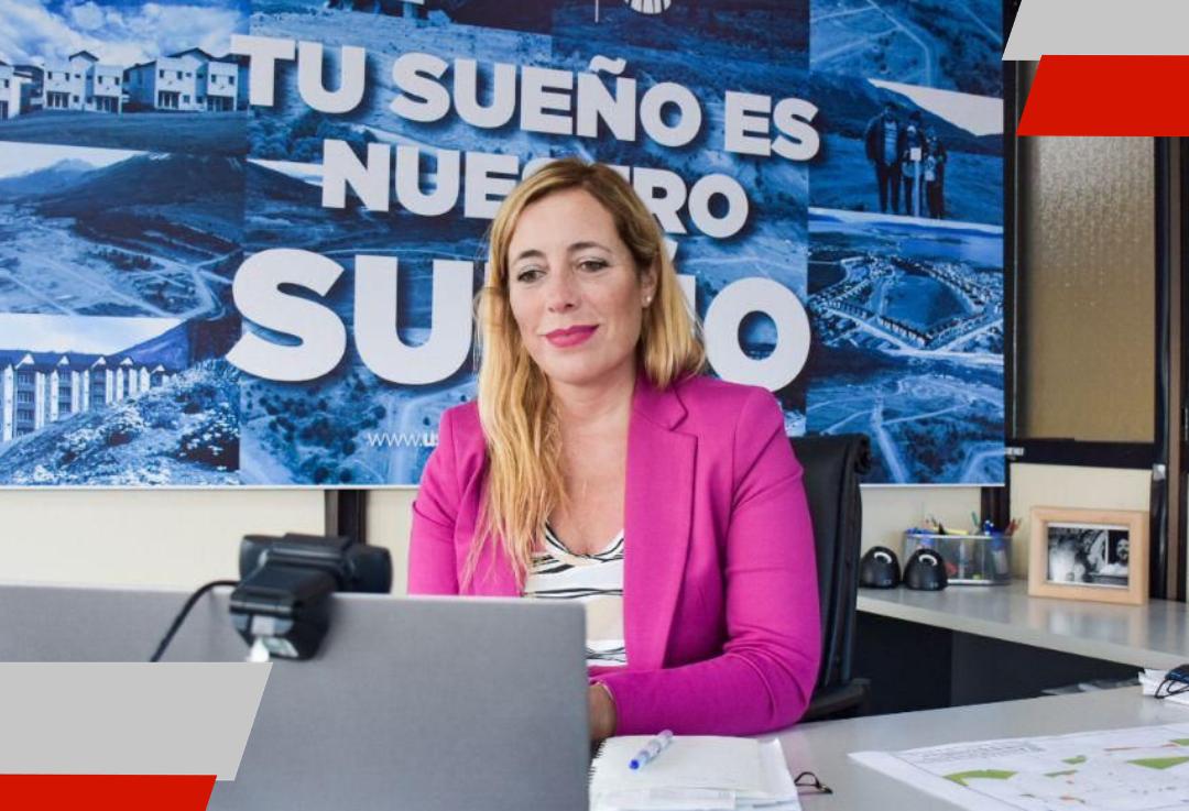 La secretaria de Hábitat de Ushuaia participó del acto de apertura de ofertas para la construcción de 70 soluciones habitacionales del procrear en la urbanización SanMartín