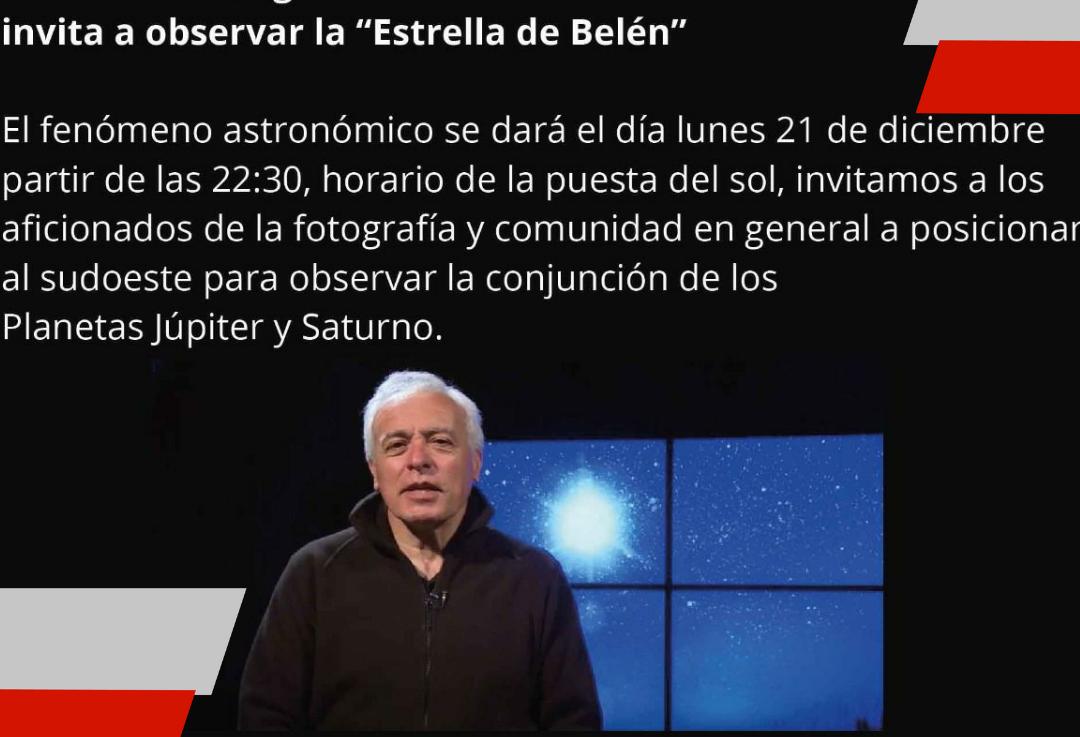 El instituto fueguino de turismo invita disfrutar del evento astronómico delaño