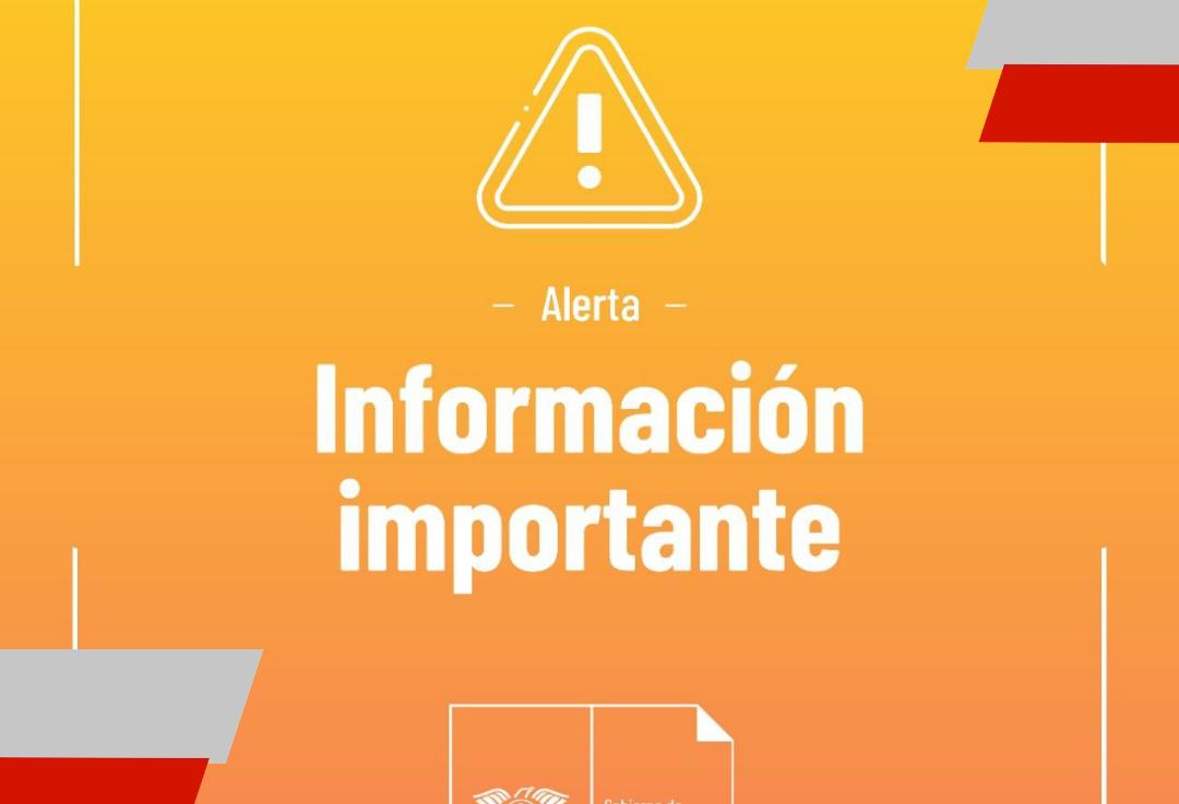 Comunicado Municipal alerta por fuertesvientos