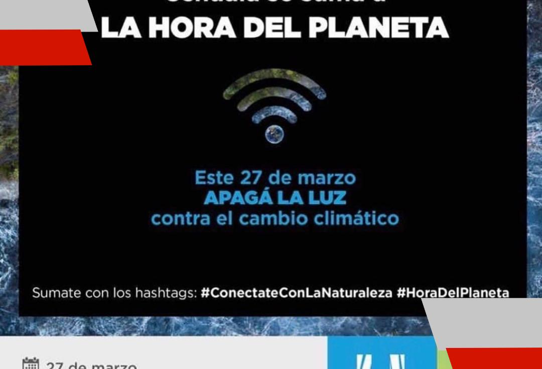 Ushuaia se suma a la hora delplaneta