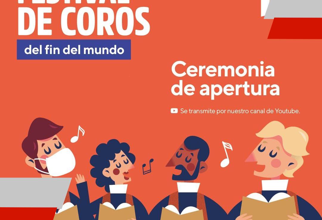 """Hoy inicia el festival de """"Coros del Fin delMundo"""""""