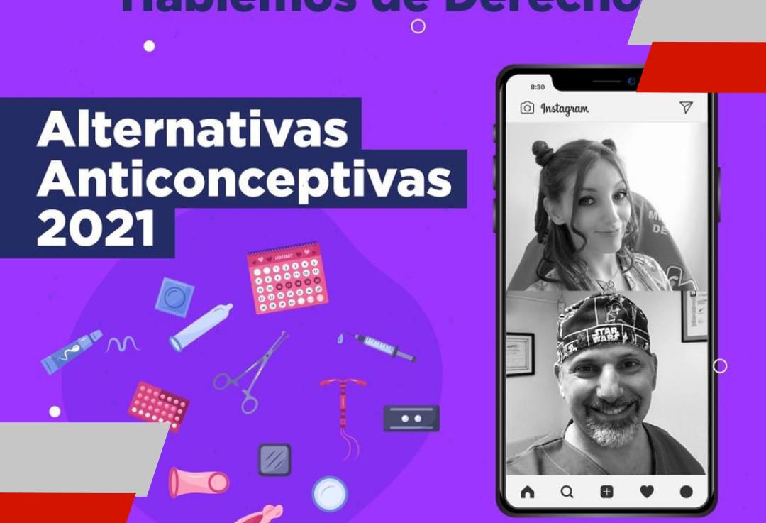 """Se realizará una charla virtual sobre """"Alternativas anticonceptivas2021"""""""