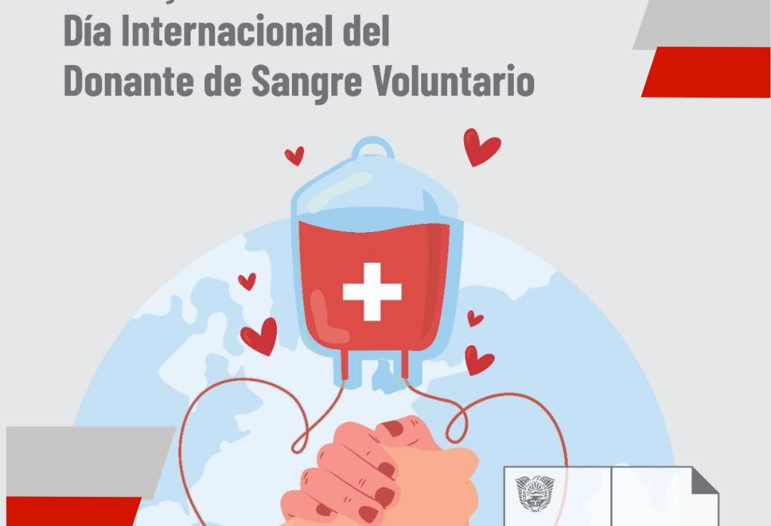 """Por el esfuerzo de los donantes voluntarios el Banco de Sangre del HRU destaca el """"Día Mundial del Donante deSangre"""""""