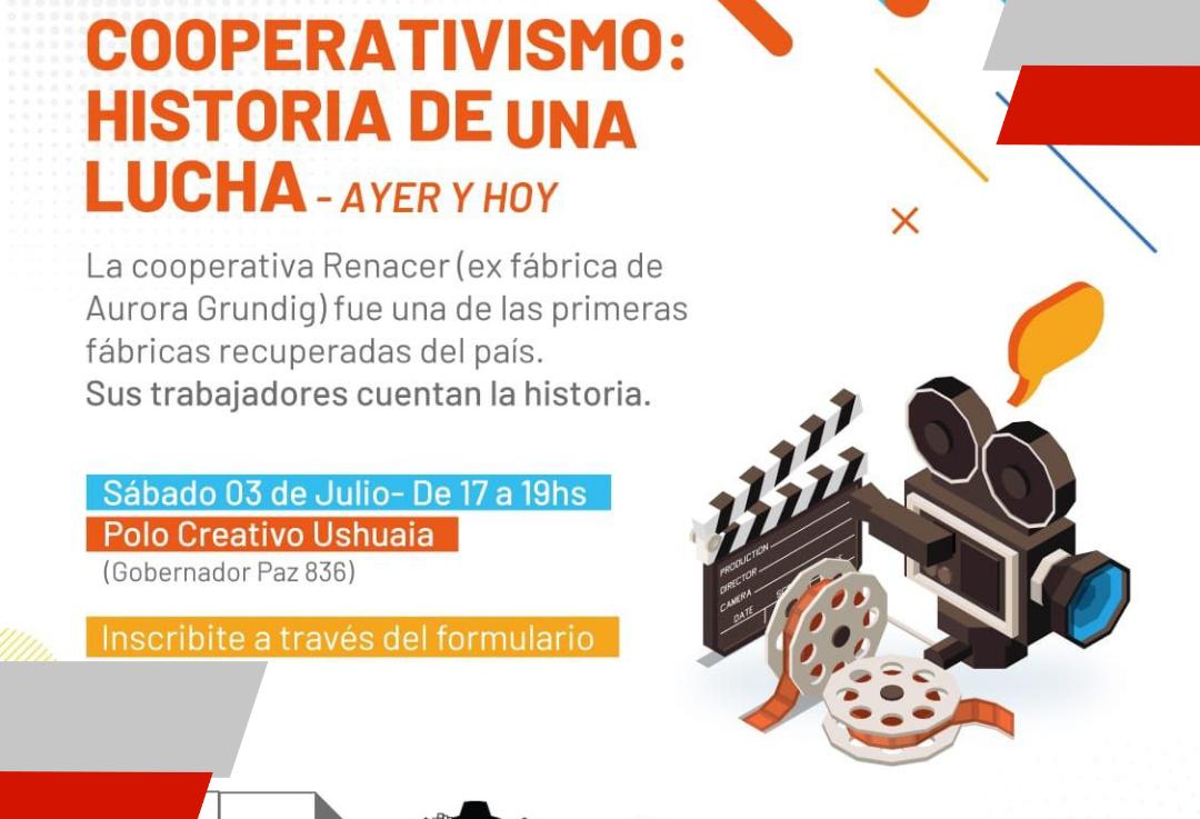 Conversatorio por el día del cooperativismo para jóvenes de la ciudad deUshuaia