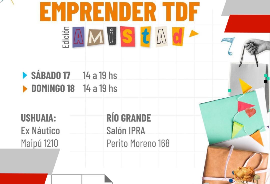 """Este fin de semana se realizará """"emprender TDF"""" con la exposición de la economía popular de las juventudesfueguinas"""