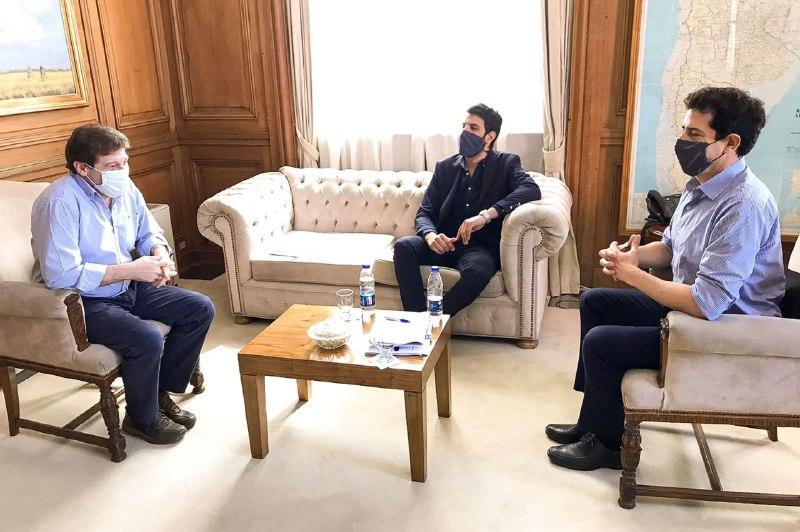 Melella y el Ministro del Interior analizan acelerar los procesos para el desarrollo de laprovincia