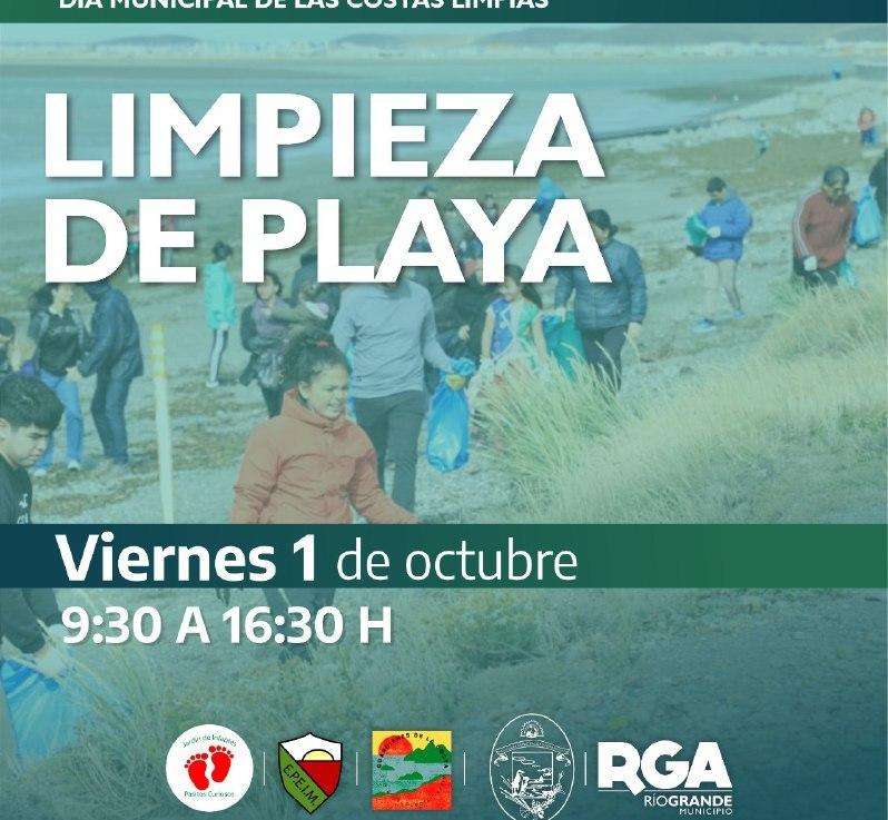 El viernes 27 de septiembre se llevará a cabo una jornada de limpieza en la costa de laciudad