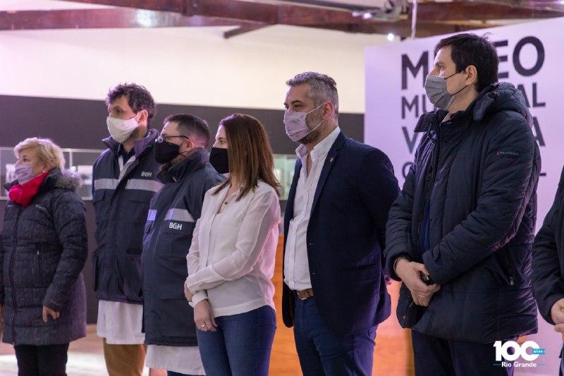 """Se inauguró la muestra """"RGA INDUSTRIAL"""" en el MuseoMunicipal"""